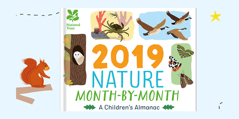 Nature 2019 A Children's Almanac Book Launch