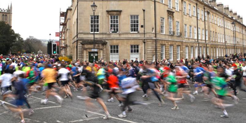 Bath Half Marathon - Glove Factory Studios runners