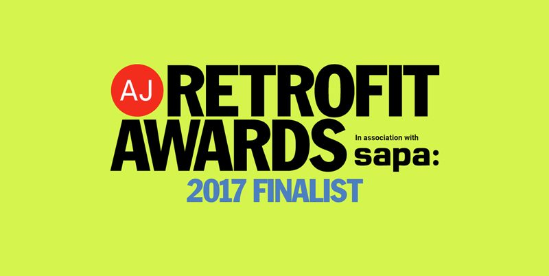 IMA at Glove Factory Studios have been shortlisted for the AJ Retrofit awards.