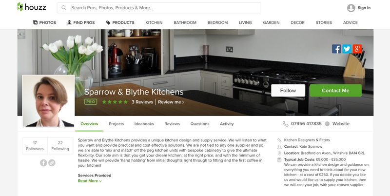 Sparrow and Blythe, Best of Houzz 2016
